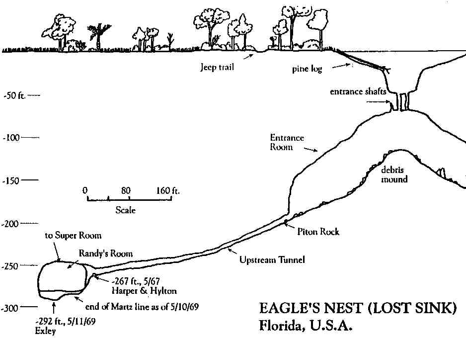 CaveAtlas com » Cave Diving » United States » Eagle's Nest