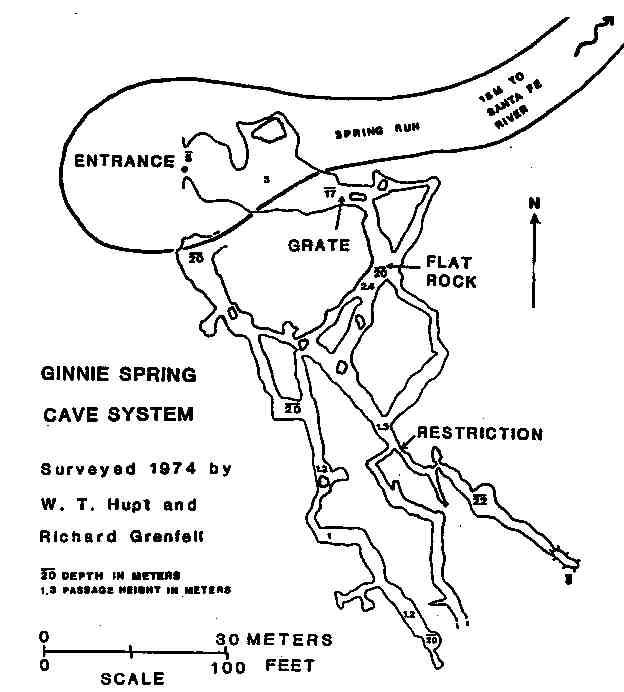 Caveatlas Com 187 Cave Diving 187 United States 187 Ginnie