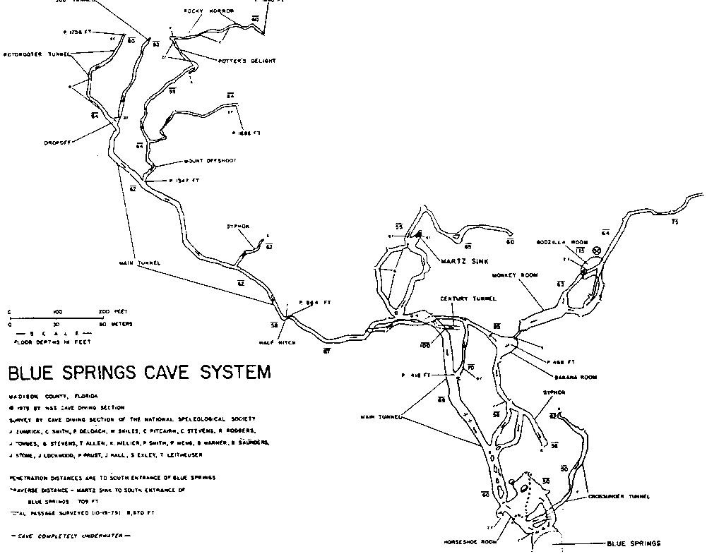 CaveAtlascom Cave Diving United States Madison Blue Springs